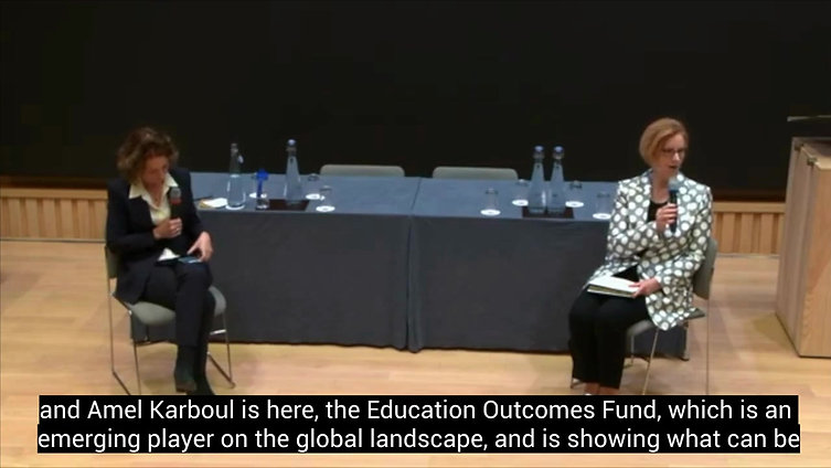 Julia Gillard calls for 1 billion dollars to be invested in organisations that can work together to drive systemic change in education outcomes, including EOF