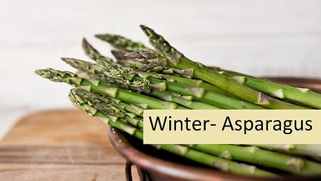 Winter- Asparagus