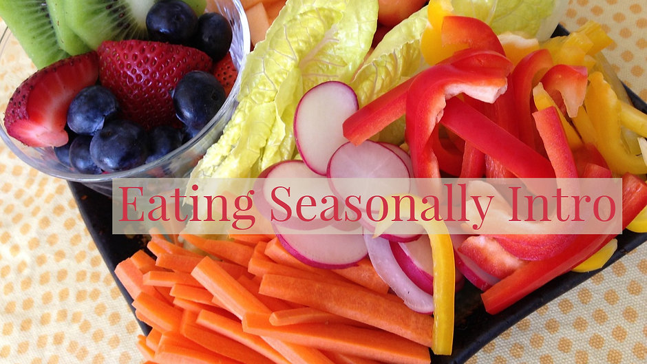 Eating Seasonally with LWGC