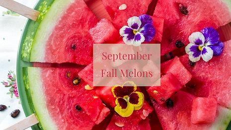Fall Seasonal Melons