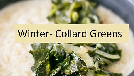 Winter-Collard Greens