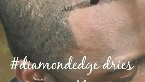 How-to apply Diamond Edge with small tinting brush