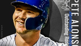 2019 NL Outstanding Rookie | Pete Alonso