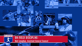 ON-FIELD DISCIPLINE