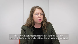 Interview Maija-Ilona Pekkanen