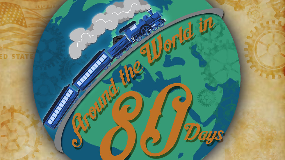 Around the World in 80 Days ...well 180 seconds