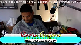 DJ Chris Live On Radio Guyana International
