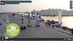 Ninebot Elite en Marbella (video promo)