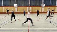 "Toves lördagspass, nr 2/12, ""Stående benstyrka"""