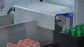 Automated Printing on Vials