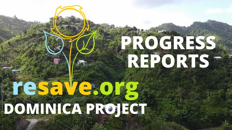 Dominica Project Progress Reports