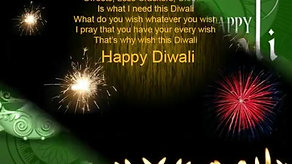Diwali wishing video