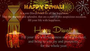 Wish diwali to family