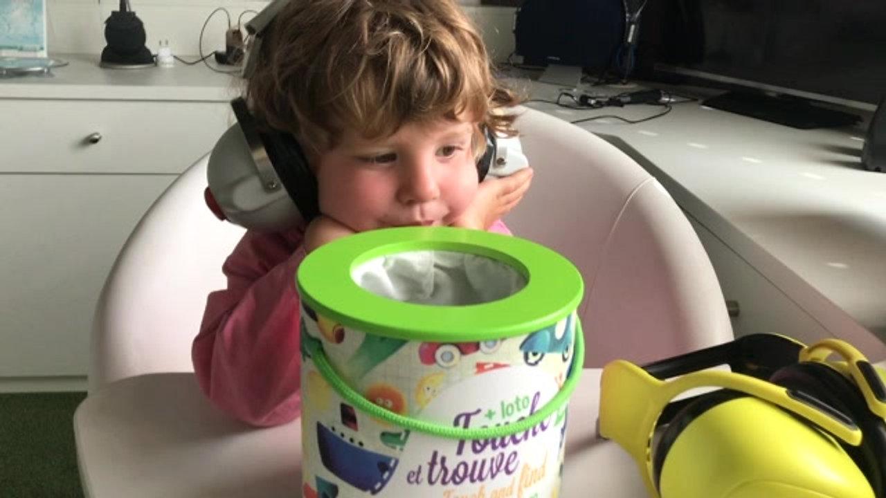 Audiométrie tonale enfant 3 ans