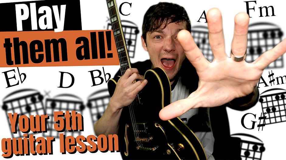 Guitar lesson 5