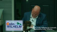 Colin Wilhelm                              Launches Campaign