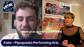 Lockdown Livestream #30 - Katie from Pipsqueaks Performing Arts