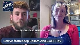 Lerryn from Keep Epsom & Ewell Tidy
