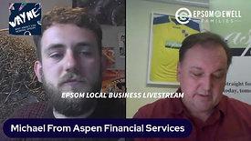 Lockdown stream #34 Aspen Financial