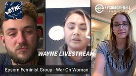 Epsom Local Stream With War On Womxn