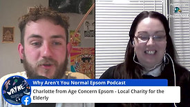 Lockdown WAYNE-Stream #20 - Charlotte From Age Concern Epsom & Ewell