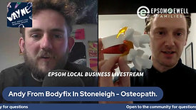ANDY FROM Bodyfix Clinic IN STONELIEGH