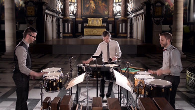 Percussion Trio - Antwerp Symphony Orchestra - Preview