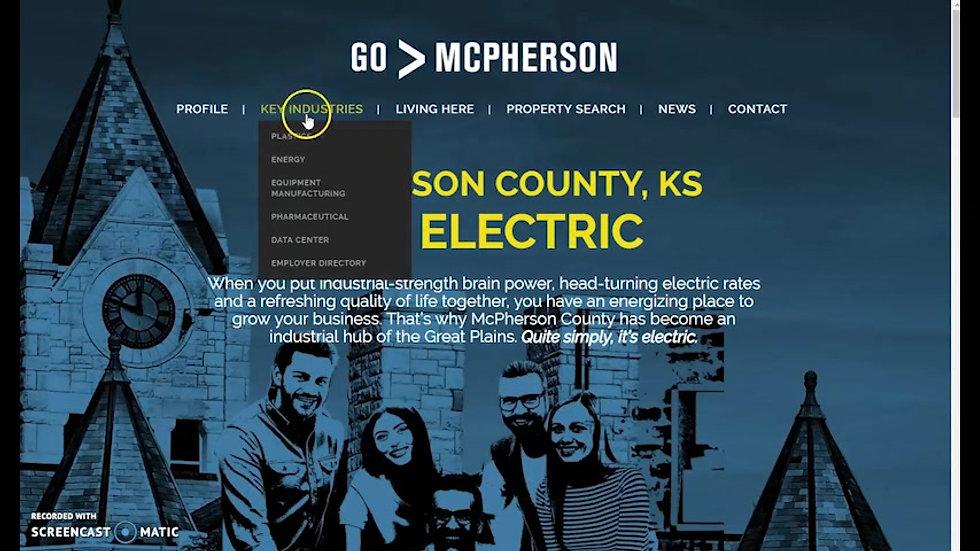 McPhersonIndustry.com Website