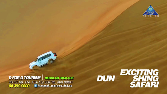Dubai for Destination Dune Bashing Commercial