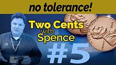NO TOLERANCE #5
