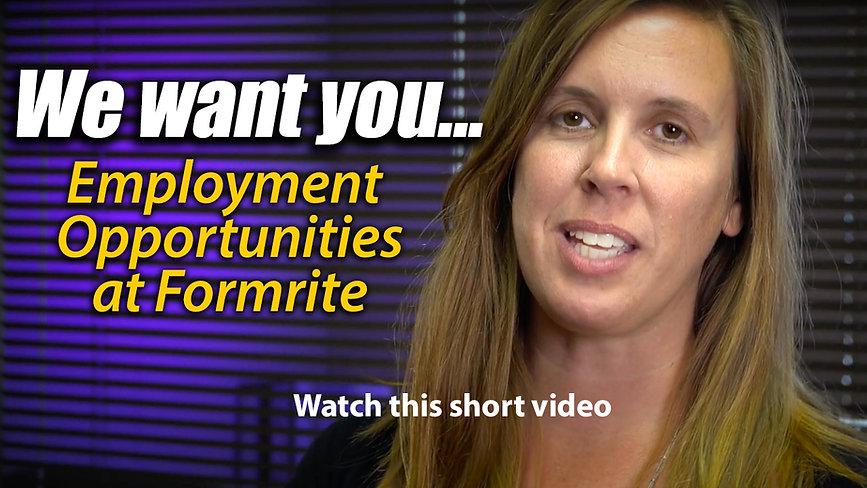 Job Openings at Formrite