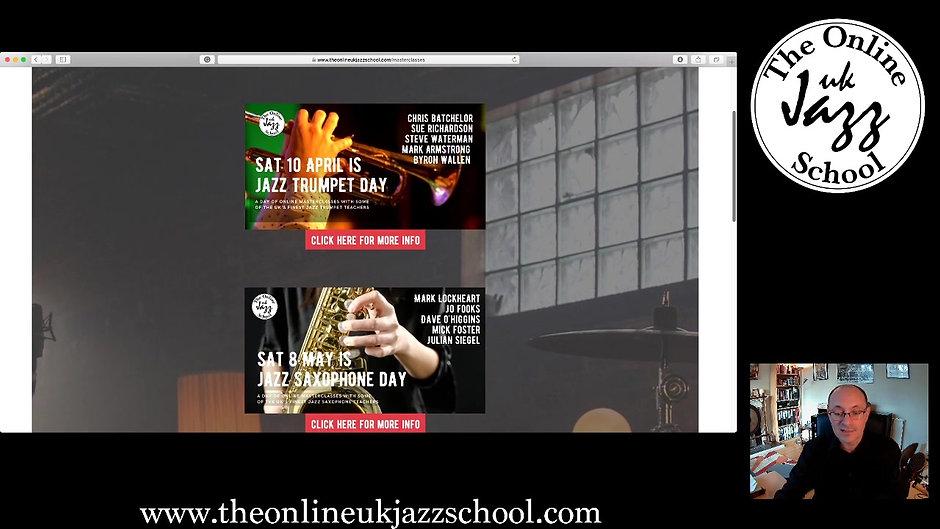 Launching The Online UK Jazz School