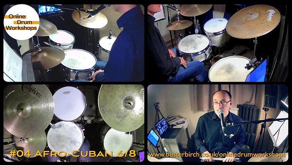 Drum Workshop #04 Afro-Cuban 6/8 (Bembe)