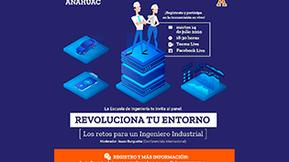 Panel Revoluciona Tu Entorno - Universidad Anáhuac Puebla