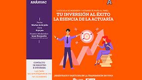 Panel Tu Inversión Al Éxito - Universidad Anáhuac Puebla