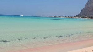 la spiaggia di S. Vito Lo Capo - Sicilia