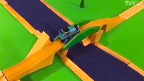 WTF IS THIS - Thomas Train Stunts