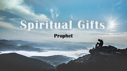 Sept 29th The Gift of Prophet-Apple Devices HD (Most Compatible)