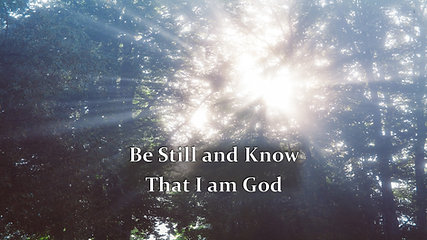 Nov 17 Be Still And Know That I Am God-Apple Devices HD (Most Compatible)