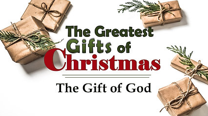 Dec 8  The Gift of God