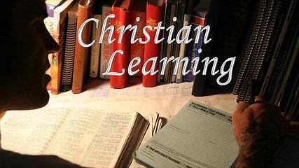 Jan 13 Christian Learning