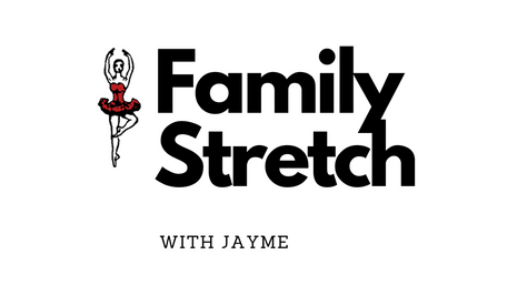 Family Leg Stretch with Jayme