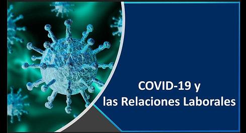 POSIBLES MEDIDAS LABORALES Y DE SEGURIDAD SOCIAL ANTE LA PANDEMIA COVID-19
