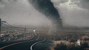 Tornado Sim VFX - C4D, TFD, Redshift