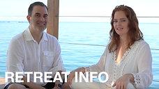 Dr. Carolina Pataky and Max Riv outline their group retreats.