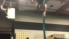 Aerial Silk Practice