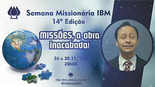 Convite 14ª Semana Missionária