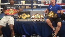REMIK Training Anthony Joshua ( World Champion )