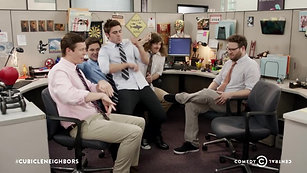 The Workaholics Guys Find a New Cubicle Mate ft. Seth Rogen and Zac Efron
