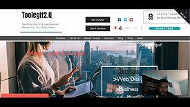 We created a stunning wix website by scratch- Webinar
